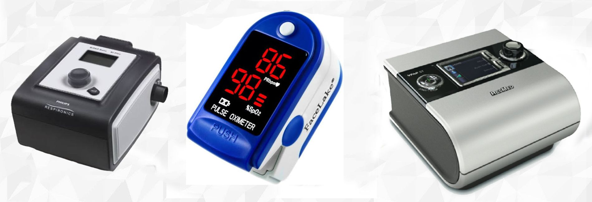 Choicemed Pulse Oximeter, BMC Bipap